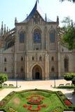 Saint Barbara's Church, Kutna Hora Stock Photo