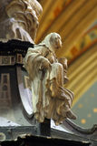 Saint Barbara. Statue in Zagreb cathedral Stock Photography
