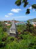 Saint Barth,  French West Indies Gustavia Harbor Royalty Free Stock Photography