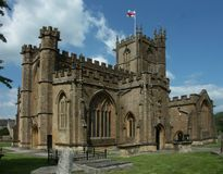 Saint Bartholomew`s church, Crewkerne Somerset, UK Stock Photos