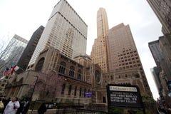 Saint Bartholomews Church, Manhattan Stock Image