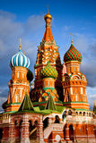 Saint Basil Cathedral à Moscou Images stock