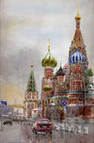 Saint Basil Cathedral Royalty Free Stock Images