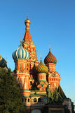 Saint Basil Cathedral cupola, Moscow, Russia Stock Images