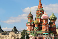 Saint Basil Cathedral cupola, Moscow, Russia Royalty Free Stock Image