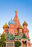 Saint Basil Cathedral at Moscow Royalty Free Stock Photos