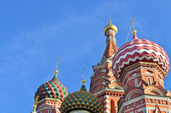 Saint Basil Cathedral in Moscow Royalty Free Stock Photography