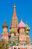 Saint Basil Cathedral  in Moscow Royalty Free Stock Photos