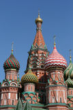 Saint Basil cathedral in Moscow Russia Stock Photography