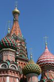 Saint Basil cathedral in Moscow, Russia Royalty Free Stock Photography