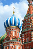 Saint Basil Cathedral on Red square Stock Photo