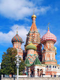 Saint Basil Cathedral at the Red Square Stock Image