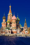 Saint Basil Cathedral on Red Square Royalty Free Stock Photos