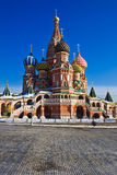 Saint Basil Cathedral on Red Square Royalty Free Stock Photo