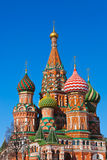 Saint Basil Cathedral on Red square, Moscow Stock Photo