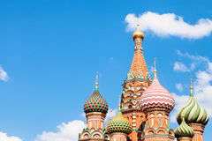 Saint Basil cathedral on Red Square in Moscow Royalty Free Stock Image
