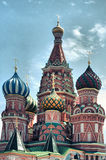 Saint Basil Cathedral at Red Square Stock Images