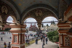Saint Basil Cathedral, Red Square Stock Image