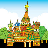Saint Basil cathedral. Russia, Moscow Stock Photo