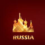 Saint Basil cathedral symbol Stock Photography