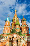 Saint basil cathedral Stock Photos