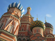 Saint Basil Domes Stock Photography