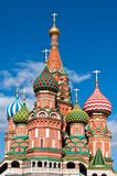 Saint Basil orthodox cathedral. In Moscow, Russia Royalty Free Stock Images