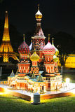 Saint Basil's cathedral Stock Images