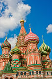 Saint Basil's Cathedral. In Moscow, Russia, Europe royalty free stock photo