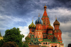 Saint Basil's Cathedral  Stock Image