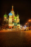 Saint Basil's Cathedral. The Cathedral of Intercession of the Virgin on the Moat, better known as Saint Basil's Cathedral. is a multi-tented church on the Red royalty free stock photography