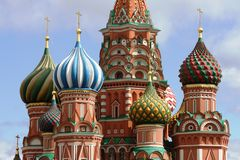 Saint Basil's Cathedral stock photography