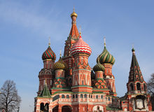 Saint Basil's Cathedral. Cathedral of Saint Basil the Blessed Royalty Free Stock Image