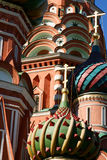 Saint Basil's Cathedral. In Red square in Moscow royalty free stock photography