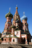 Saint Basil's Cathedral. In Red square in Moscow royalty free stock photos