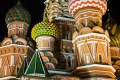 Saint Basil S Cathedral At Night Stock Image