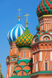 Saint Basil's Cathedral (Cathedral of Vasily the Blessed or Pokr Stock Image