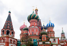 Saint Basil's Cathedral in Moscow Royalty Free Stock Image