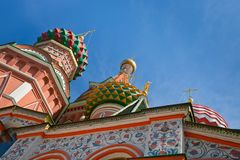 Saint Basil's Cathedral in Moscow Stock Photos