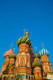 Saint Basil's Cathedral moscow Stock Photo