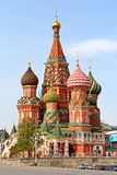 Saint Basil's Cathedral in Moscow Stock Images