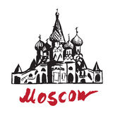 Saint Basil S Cathedral - Moscow Stock Photography