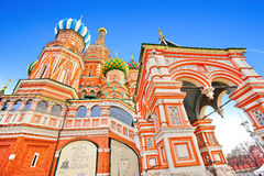 Saint Basil's Cathedral in Moscow Royalty Free Stock Photo
