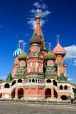 Saint Basil's Cathedral, Moscow, Russia Royalty Free Stock Photos