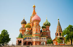 Saint Basil's Cathedral in Moscow Royalty Free Stock Images