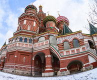 Saint Basil's Cathedral Royalty Free Stock Images