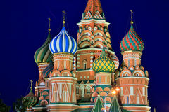 Saint Basil's Cathedral, Moscow, Russia Royalty Free Stock Images
