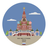 Saint Basil's Cathedral. Moscow Royalty Free Stock Images