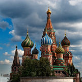 Saint Basil's Cathedral. Moscow, Russia Stock Photo