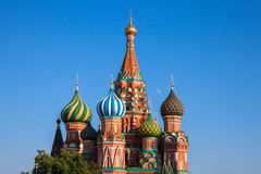 Saint Basil's Cathedral, Moscow, Russia. Stock Images